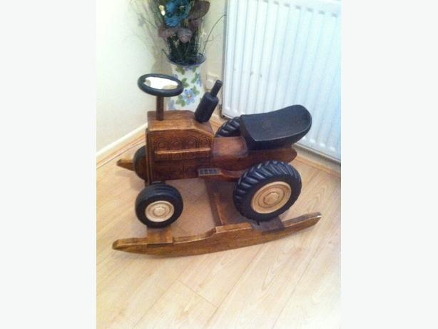 indian wood tractor