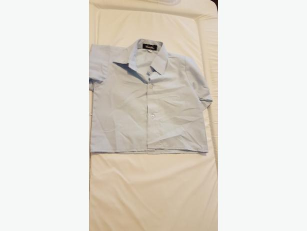 0-3 Months Light Blue Shirt