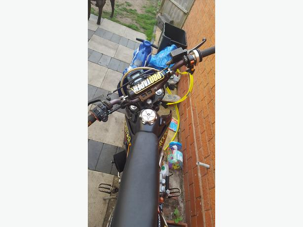 road legal pit bike 140cc Thumpstar