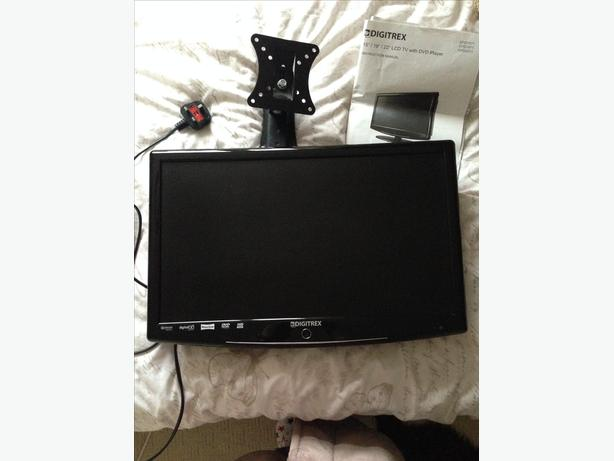 "19"" DIGITAL TV & DVD PLAYER"
