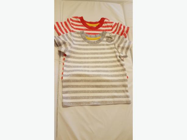 Baby Boys Striped T-Shirts (3-6 months) £4.00