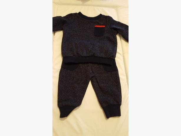 Baby's Navy Jogging Suit (0-3 months) £5.00