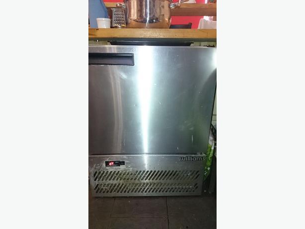 Williams Single Door Under Counter Stainless Steel Fridge