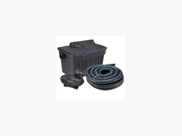 WANTED POND FILTER,PUMP,ETC