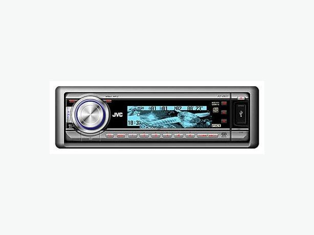 JVC WMA,MP3,CD,,USB FULL MULTI DISPLAY CAR HEAD UNIT