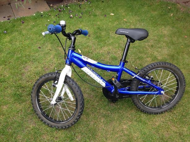 16in boys adventure bike