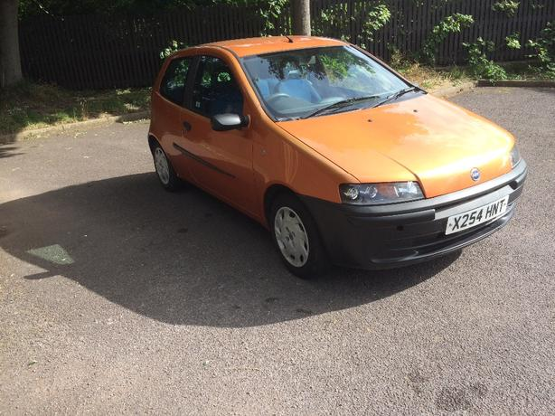 for sale fiat punto low milage