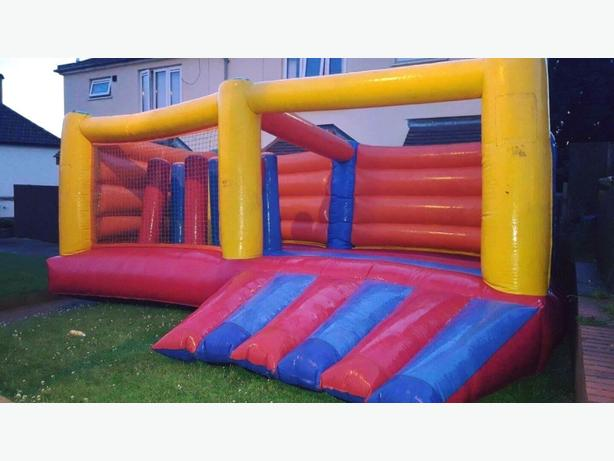 FOR TRADE:  BOUNCY CASTLE HIRE