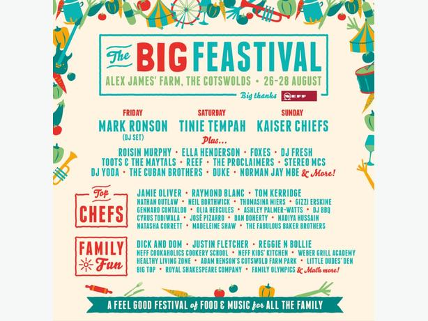 the big feastival camping tickets