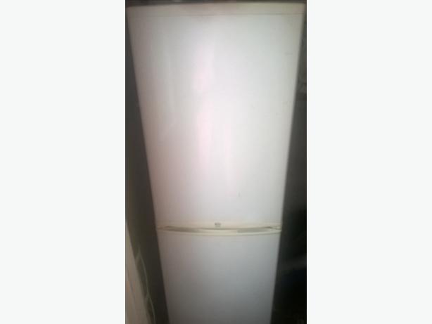 half and half fridge freezer