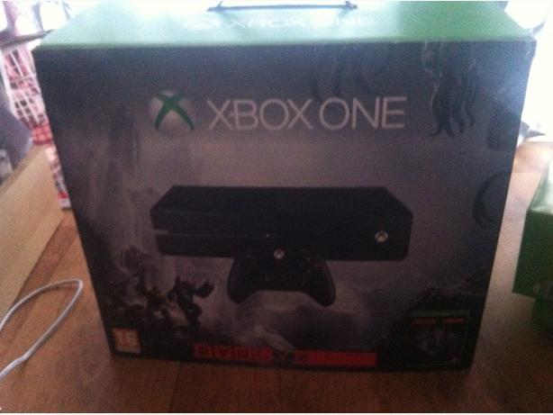 Xbox one boxed mint condition