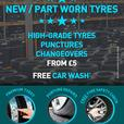 NEW & PART WORN TYRES