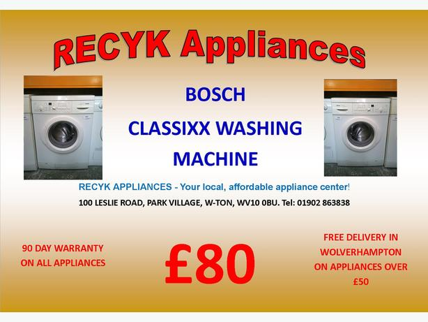 BOSCH CLASSIXX WASHING MACHINE WITH FREE DELIVERY IN WOLVERHAMPTON