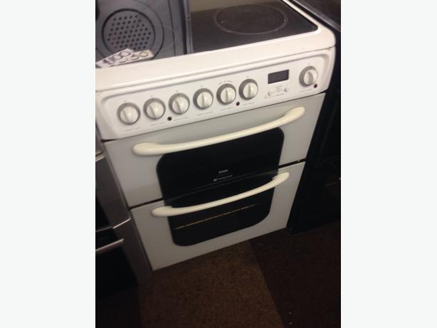 CREDA HOTPOINT 60CM FAN ASSISTED ELECTRIC COOKER