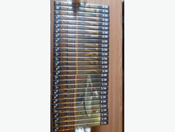Collection of 28 original star trek dvd