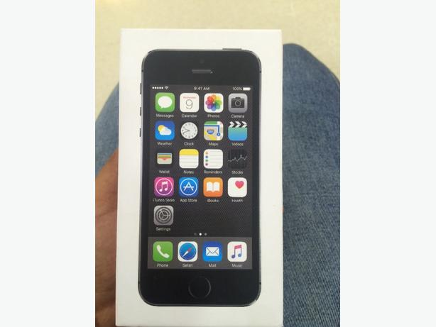 brand bew iphone 5s space grey
