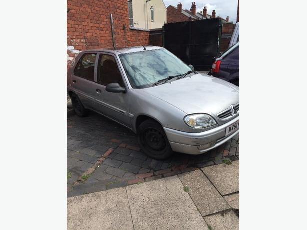 citroen saxo 1.2 petrol with mot