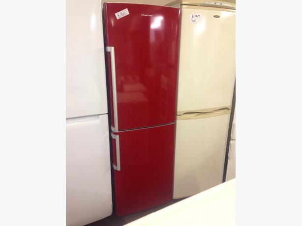 RED FRIDGE / FREEZER GOOD CONDITION