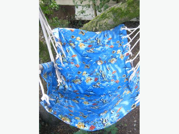 Swinging Hammock Rope Chair Sea Life themed