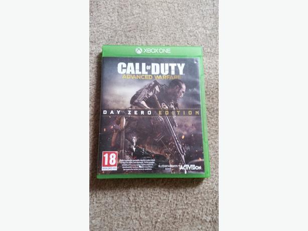 call of duty Advanced Warfare xbox one game