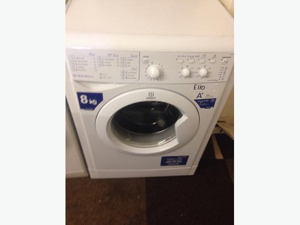 8KG WHITE INDESIT 1400 SPIN WASHING MACHINE