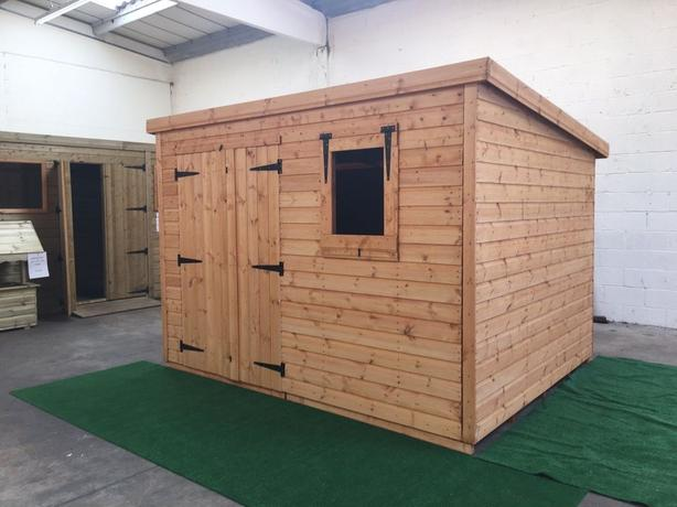 garden shed 12x12 any size or spec avalable made to order