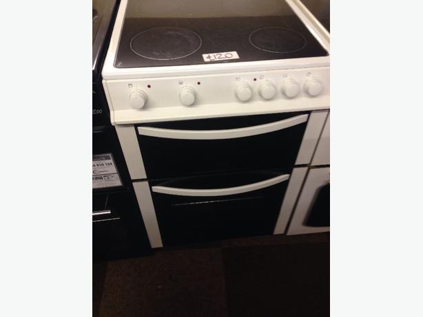 LOGIK 60CM ELECTRIC COOKER WHITE