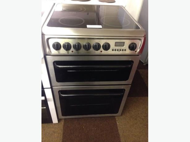 HOTPOINT CREDA 60CM FAN ASSISTED DOUBLE OVEN2