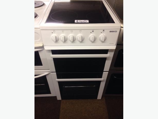 BEKO 50CM FAN ASSISTED DOUBLE OVEN