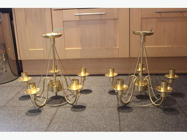 Two Light Fittings, £20 each or £35 for two