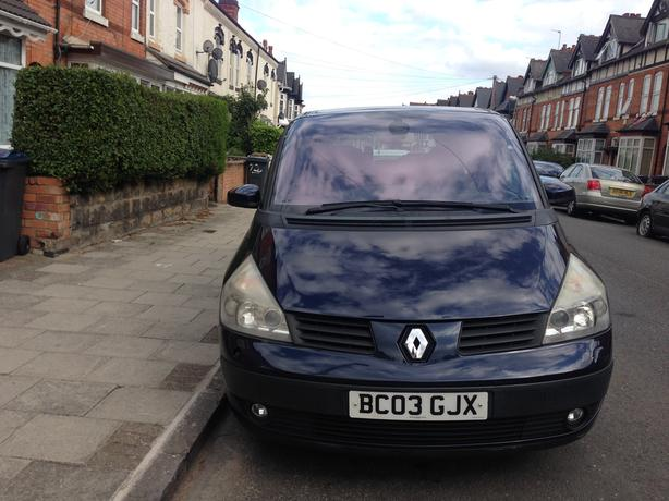 2003 RENAULT ESPACE PRIVILEGE 3.0 DIESEL AUTOMATIC STARTS & DRIVES £3000 ONO