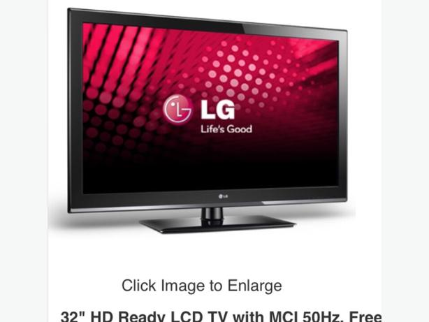 LG television 32 inch