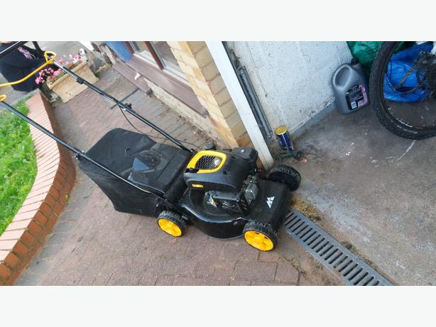 £50 petrol mower used once