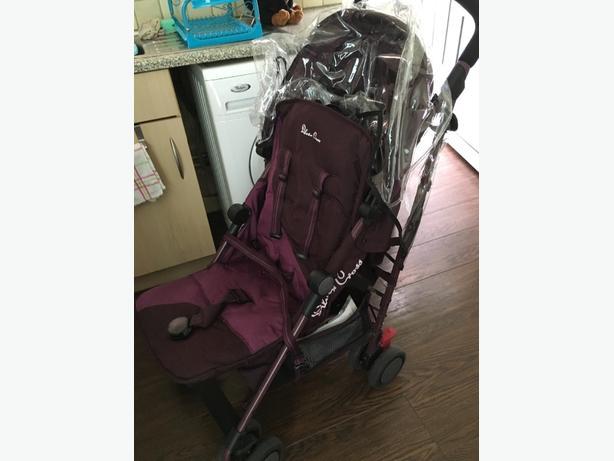 silvercross aurbegine stroller
