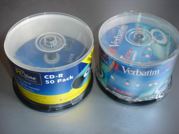74 unused Compact Disk Recordable CDRs £15