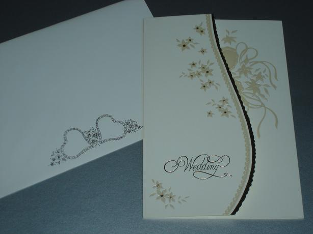 40 x Wedding Cards with Envelopes. £5