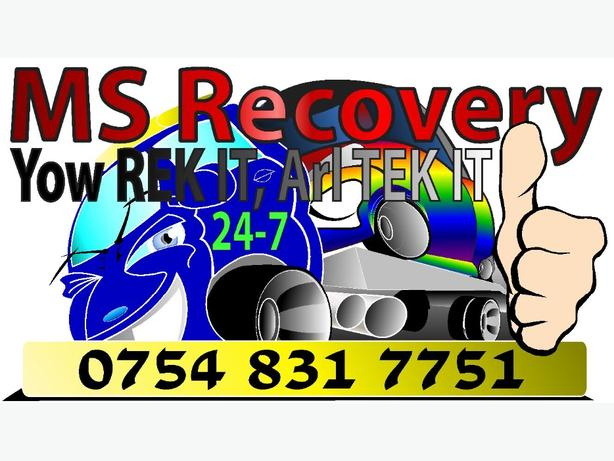 recovery service/man with van/ breakdown