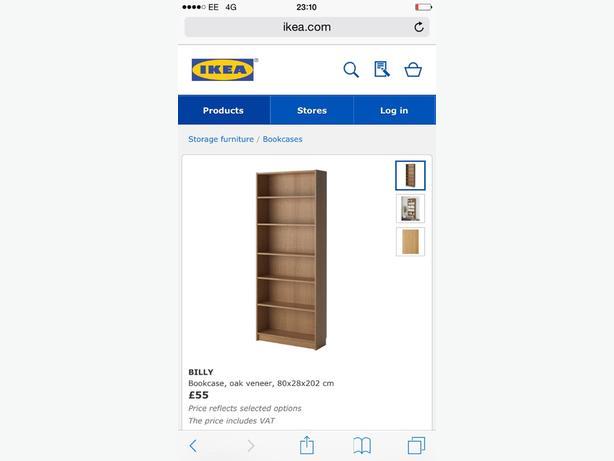 ikea oak furniture **REDUCED £40!!!**
