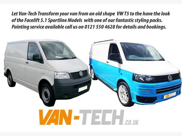 VW Transporter T5 Sportline Full Conversion Styling Pack
