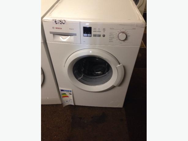 NEW NEVER USED BOSCH 6KG WASHING MACHINE