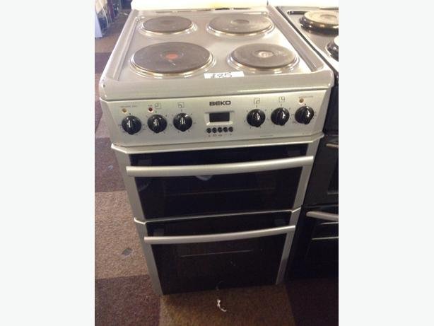 GREY BEKO 50CM ELECTRIC COOKER
