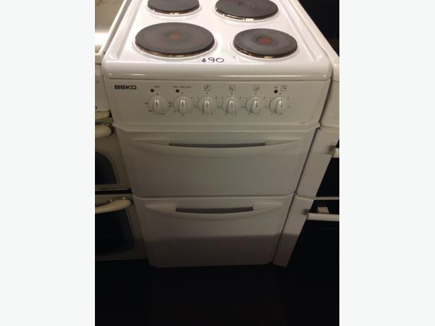 WHITE BEKO 50CM ELECTRIC COOKER