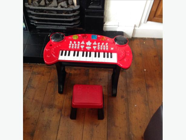 Chad Valley toy keyboard