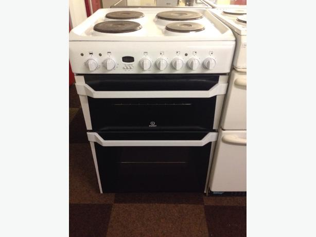 INDESIT DOUBLE OVEN 60CM ELECTRIC COOKER