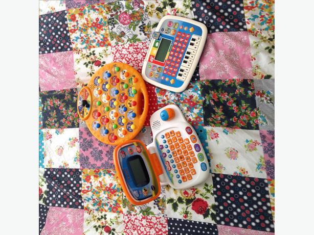 Vtech laptop, VTech tablet and phonics toy