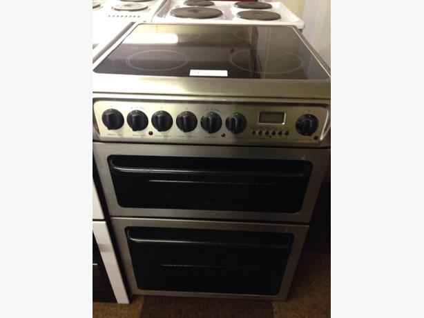 HOTPOINT CREDA 60CM ELECTRIC COOKER DOUBLE OVEN1