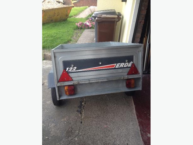 122 ERDE trailer (tipper) MINT CONDITION