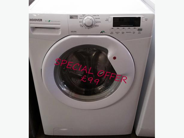 **SPECIAL OFFER** HOOVER 8KG WASHING MACHINE + WARRANTY