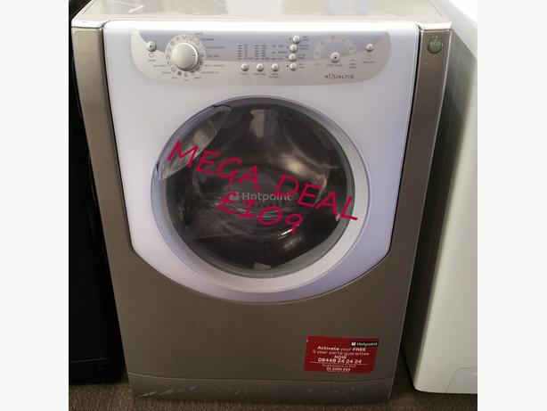 **MEGA DEAL** HOTPOINT AQUALTIS WASHING MACHINE + WARRANTY