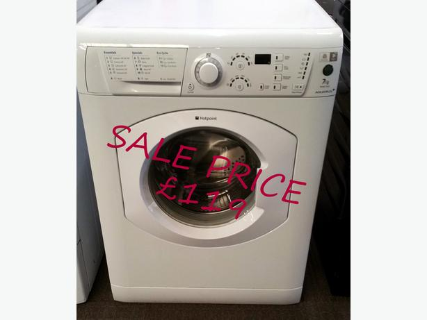 **SALE ** HOTPOINT WASHING MACHINE 7KG LOAD + WARRANTY